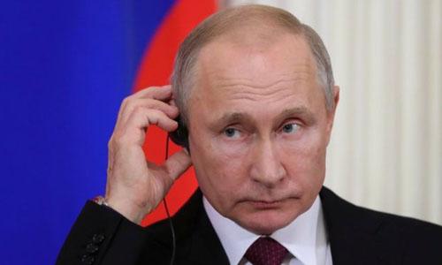 Vladimir Putin's photo